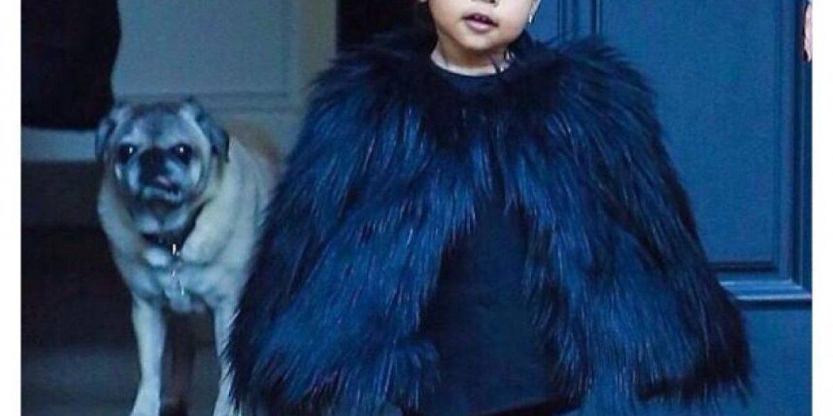 No cumple 2 años y la hija de Kim Kardashian ya es una