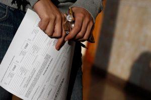 Del total de alumnos que rendirán la prueba las mujeres representan el 52,6 % (148.854 inscritos) y los hombres el 47,4% (134.165 inscritos). Foto:Agencia UNO. Imagen Por: