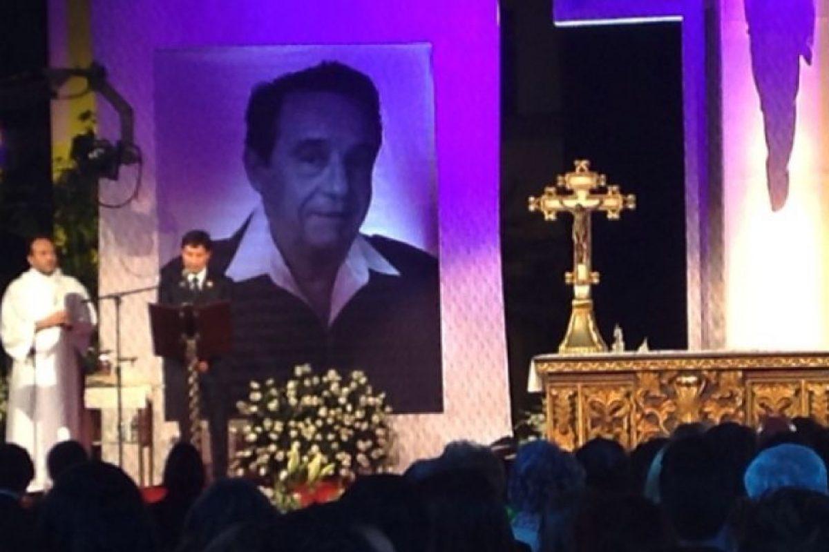 La misa fue presidida por monseñor Diego Monroy Foto:Facebook/Televisatelevisionmx. Imagen Por: