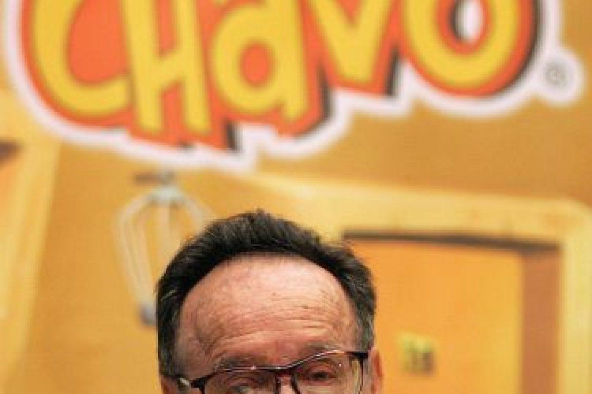 Roberto Gómez Bolaños Foto:AFP. Imagen Por: