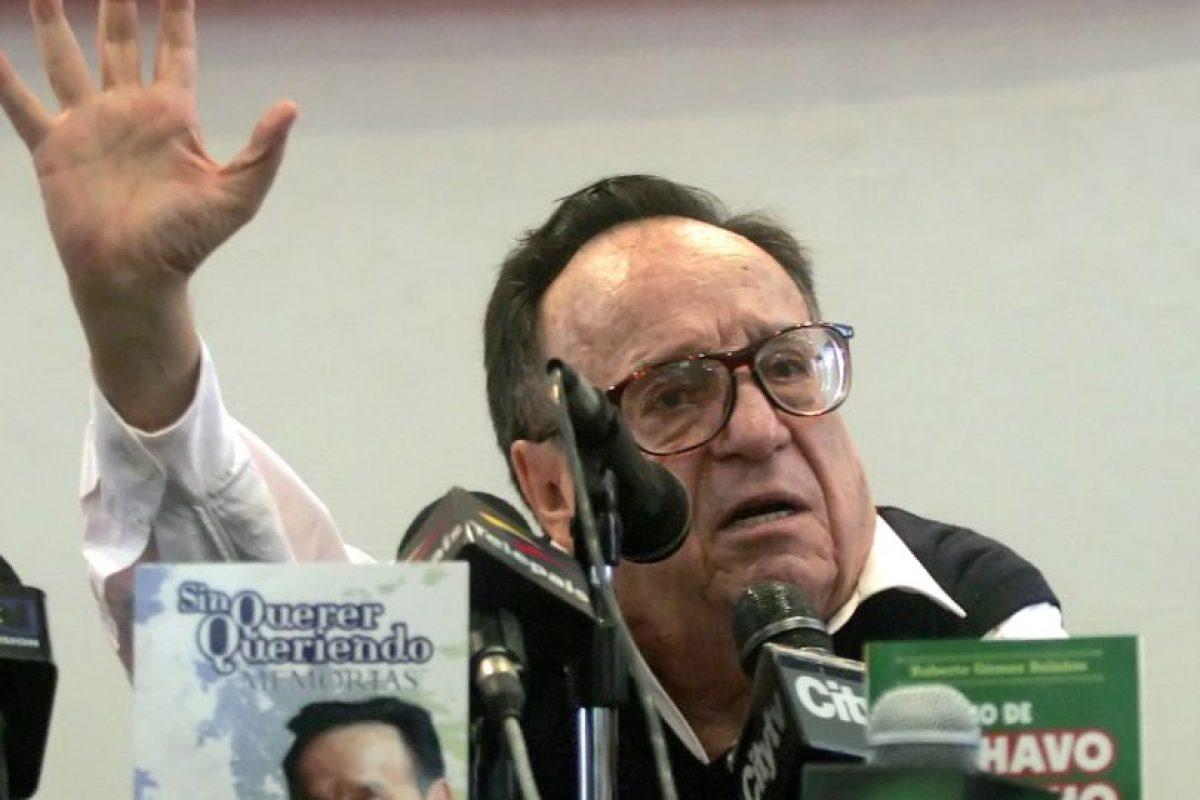 Los restos del comediante llegaron el sábado a la Ciudad de México Foto:AFP. Imagen Por: