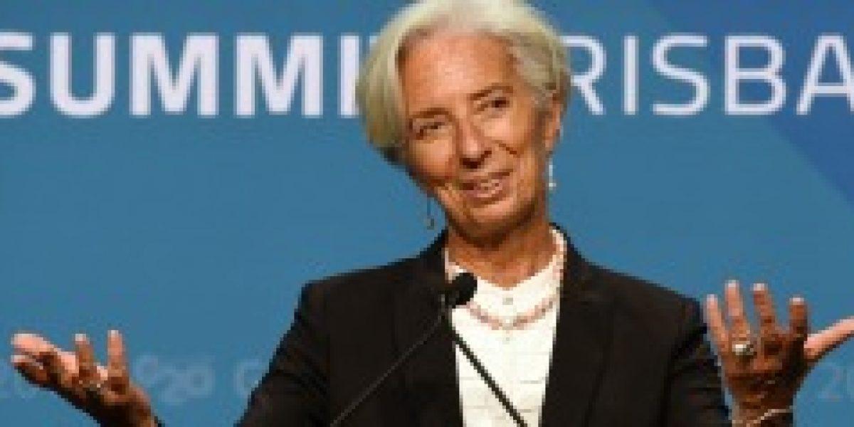 Directora del FMI inicia gira por Perú y Chile