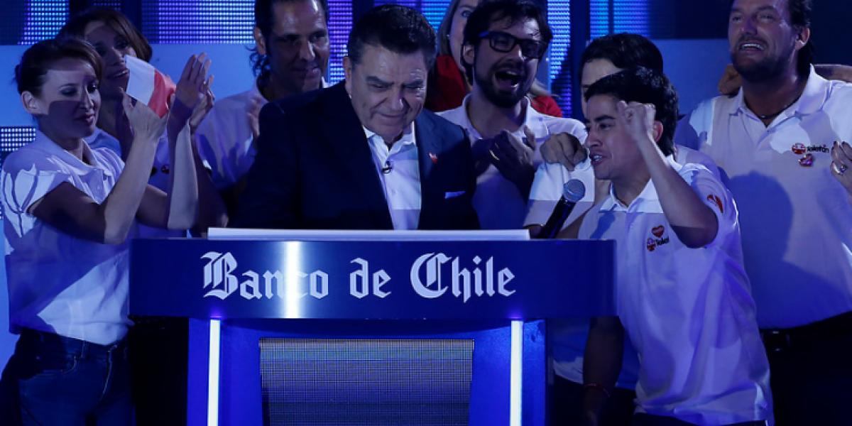 Chile lo logró: Teletón superó la meta!