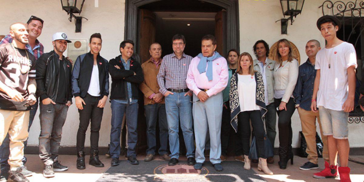 Don Francisco y famosos se reunieron en tradicional almuerzo post Teletón