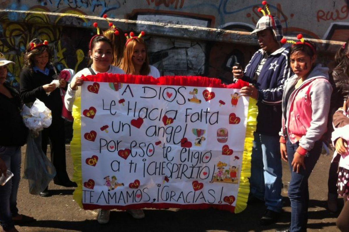 Cientos de mensajes de cariño. Foto:Nicolás Corte. Imagen Por: