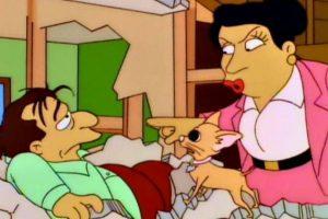 """Quien interpreta al """"Hombre Abejorro"""" tiene una vida privada desastrosa. En un capítulo de """"Los Simpsons"""" su mujer se divorció de él. Foto:Fox. Imagen Por:"""