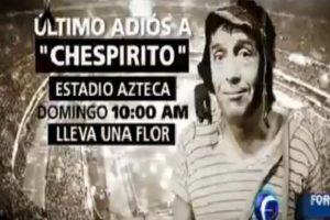 """Ya comenzaron los homenajes para """"Chespirito"""". Esta noche se le hará uno en la """"Plaza de las Estrellas"""" Foto:Twitter/ForoTV. Imagen Por:"""