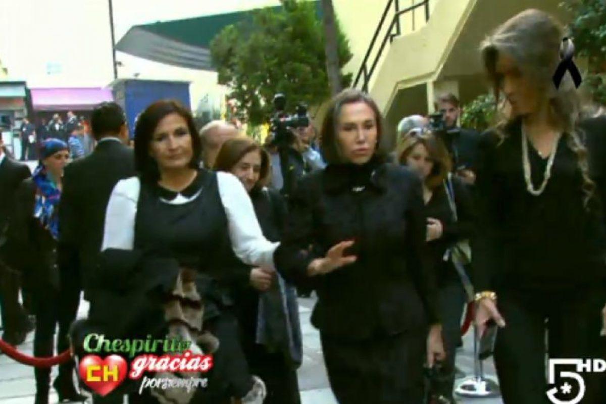 Aquí, Florinda Meza, su viuda. Foto:Twitter/TelevisaTvMx. Imagen Por:
