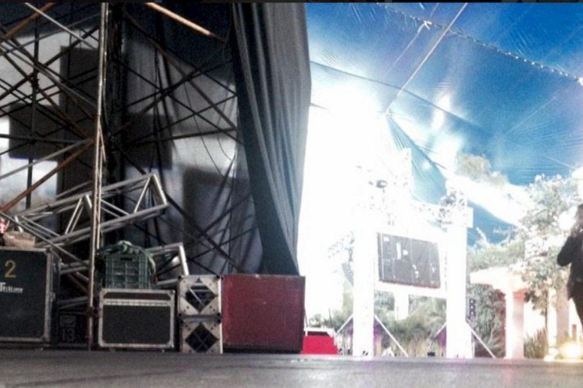 Este es el escenario. Foto:Twitter/TelevisaTvMx. Imagen Por: