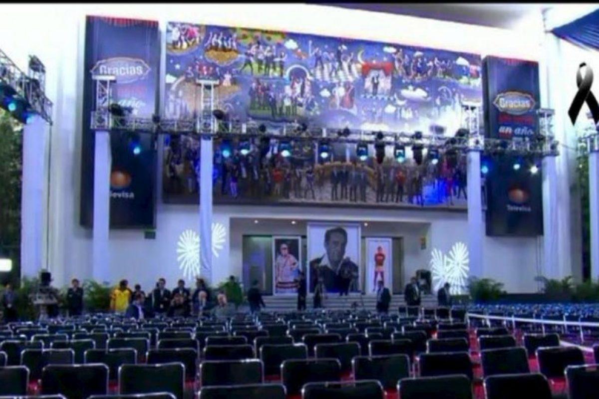 El homenaje se realizó el sábado 29 de noviembre Foto:Twitter/TelevisaTvMx. Imagen Por: