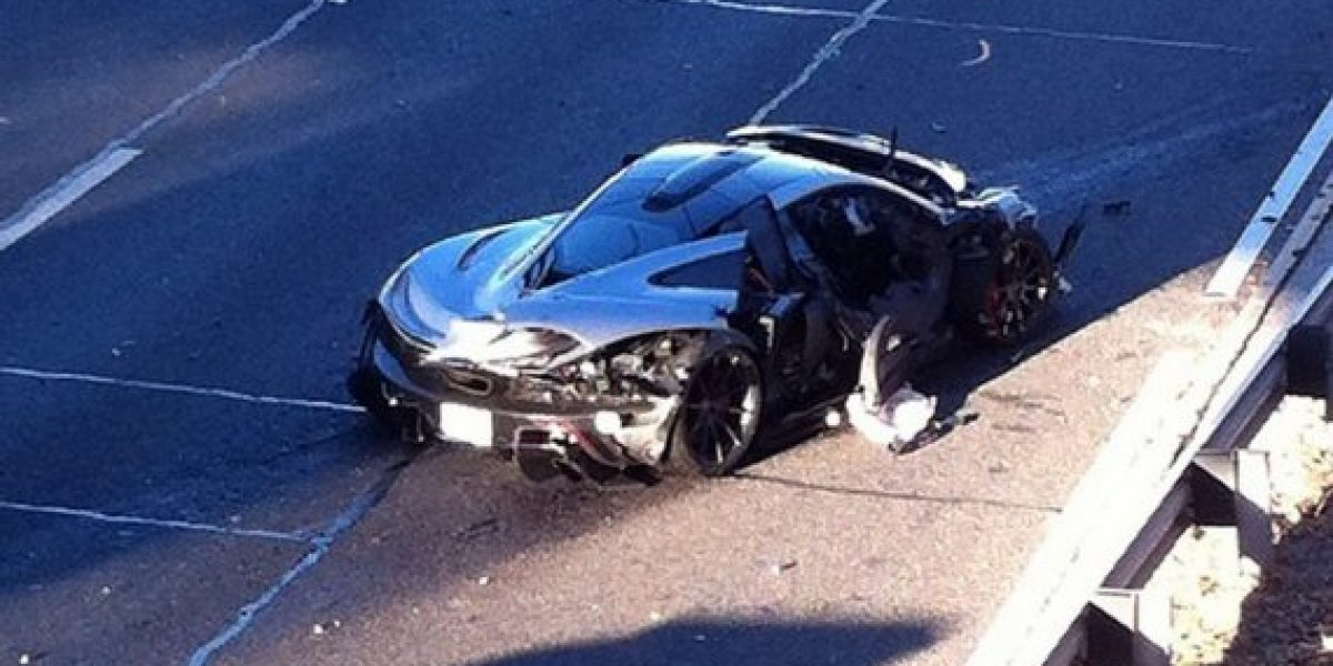 En 24 horas estrelló su McLaren P1