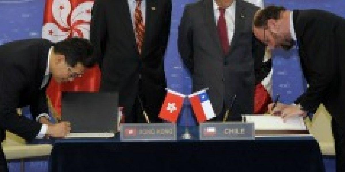 Entra en vigencia nuevo TLC entre Chile y Hong Kong