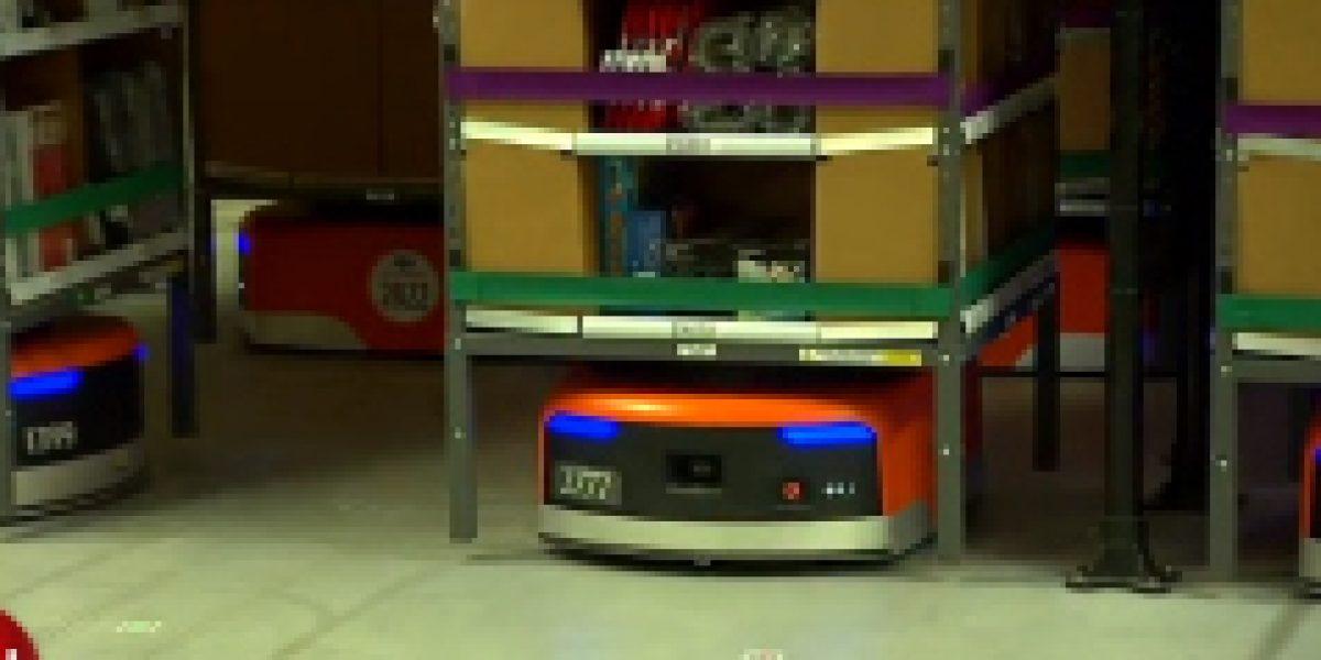 Tienda Amazon: Con estos robots buscan bajar los costos de operación en Navidad