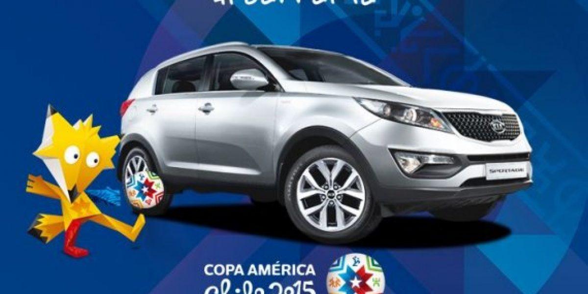 Kia te regala entradas para la Copa América