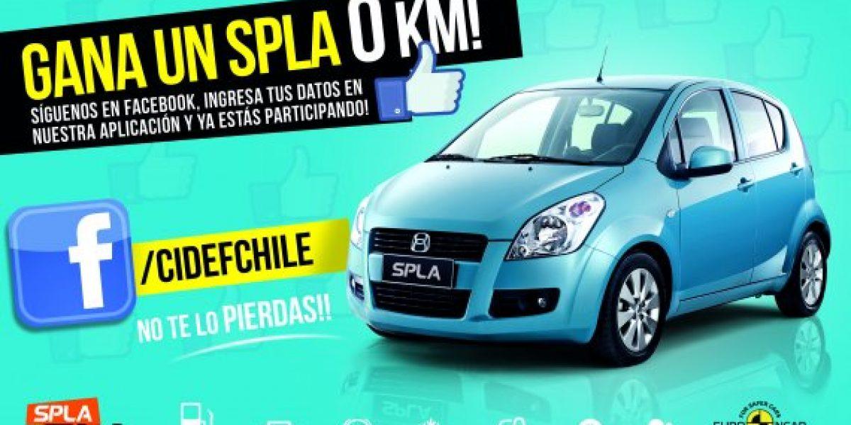 Cidef lanza concurso con el que puedes ganar un auto