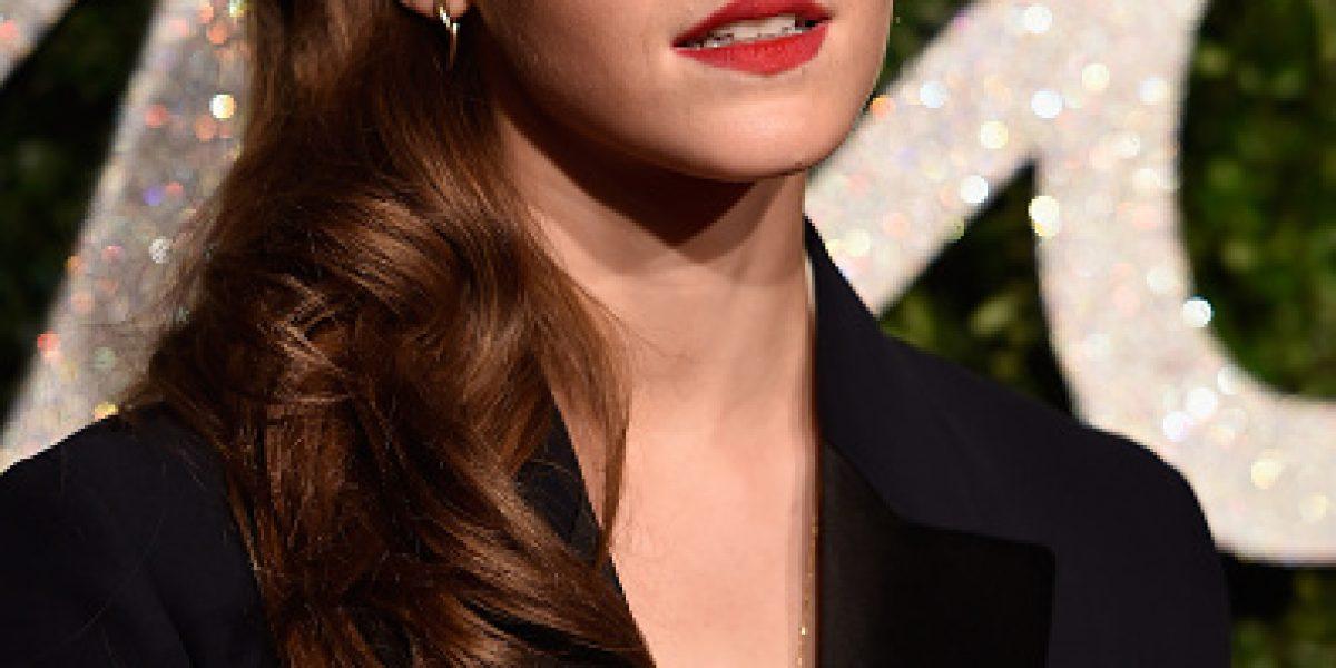 Emma Watson es pura elegancia en los British Fashion Awards
