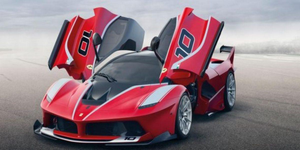 Conoce al nuevo Ferrari híbrido FXXK