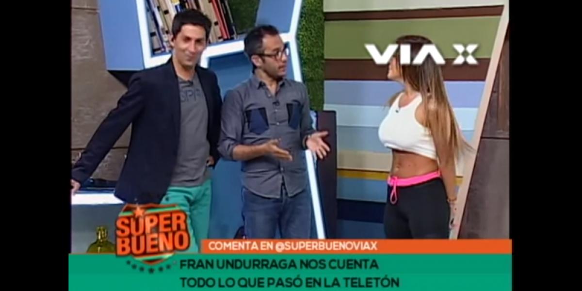 Fran Undurraga se fue en picada contra el Pollo Valdivia