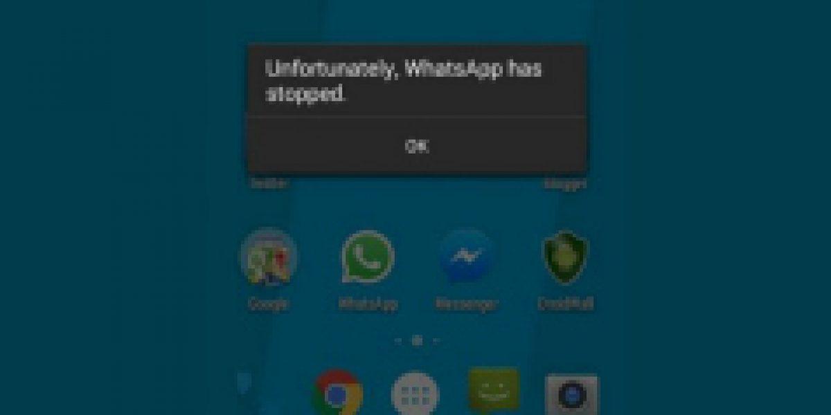 El mensaje que provoca pérdida de información en WhatsApp