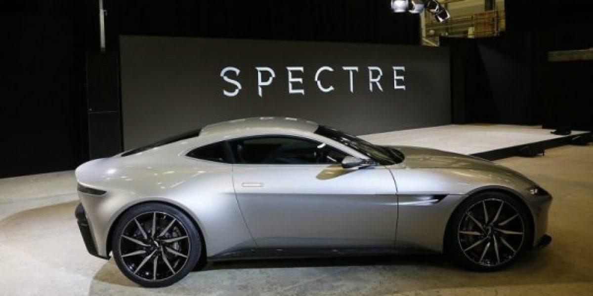 El nuevo Aston Martin de James Bond