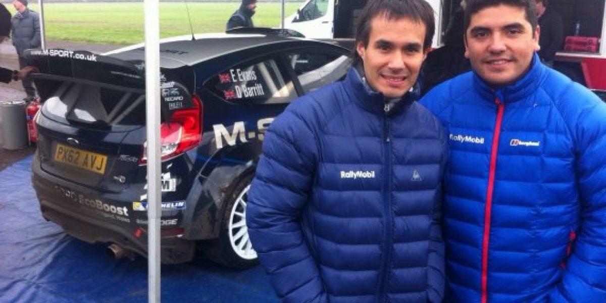 Jorge Martínez probó por primera vez un Ford de M-SPORT