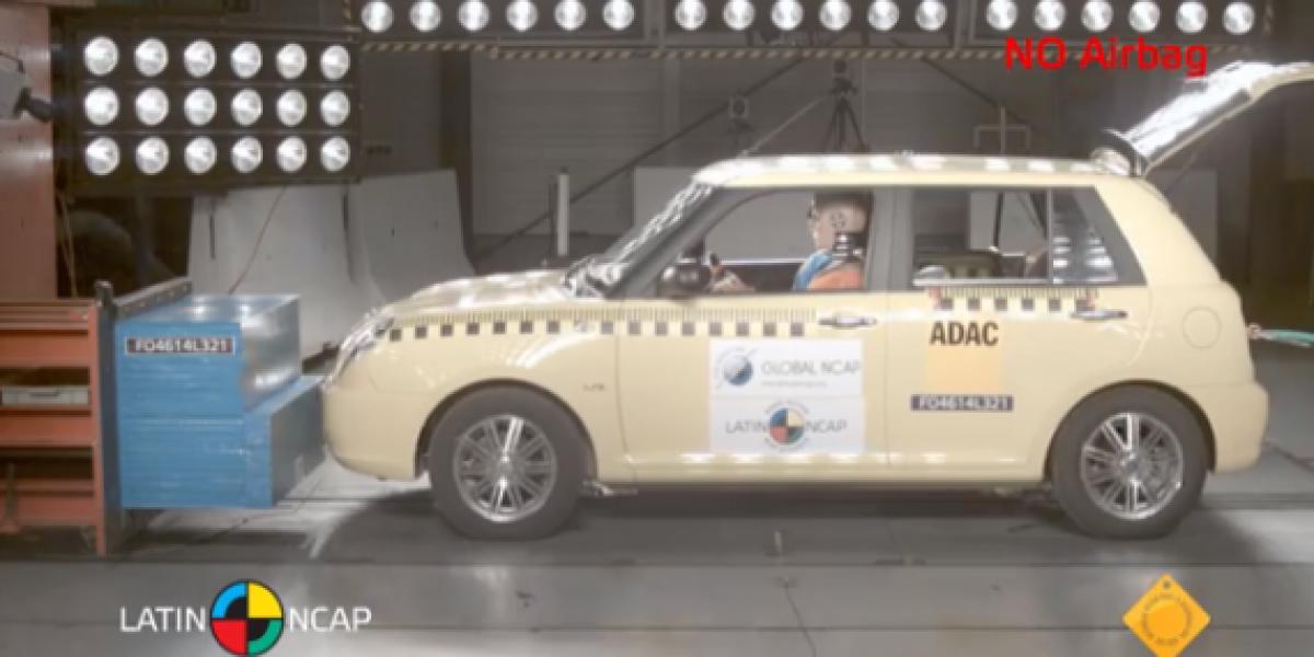 Uno de los autos más inseguros de Latinoamérica según LatinNcap