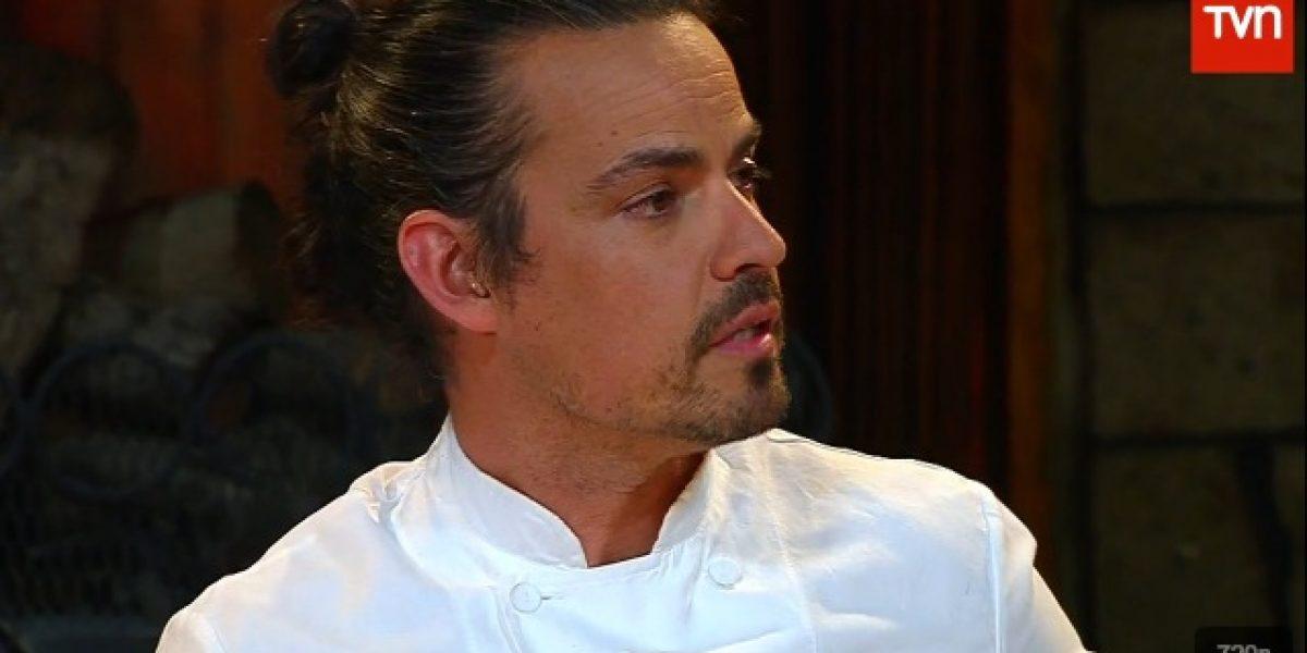 Carlo Von Mühlenbrock se indigna con participantes de Top Chef y se niega a probar plato