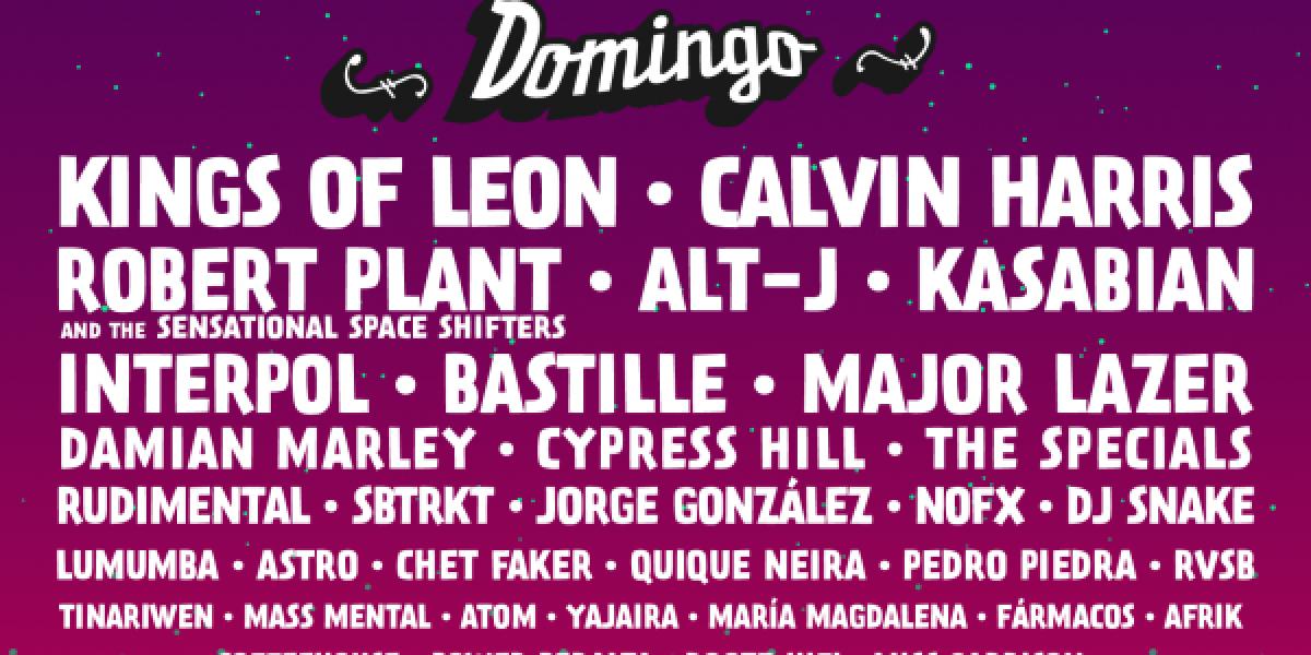 Lollapalooza Chile anuncia presentaciones por día y venta de pases diarios