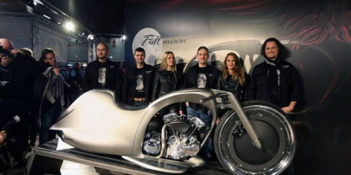 Full Moon, la motocicleta más futurista del mundo