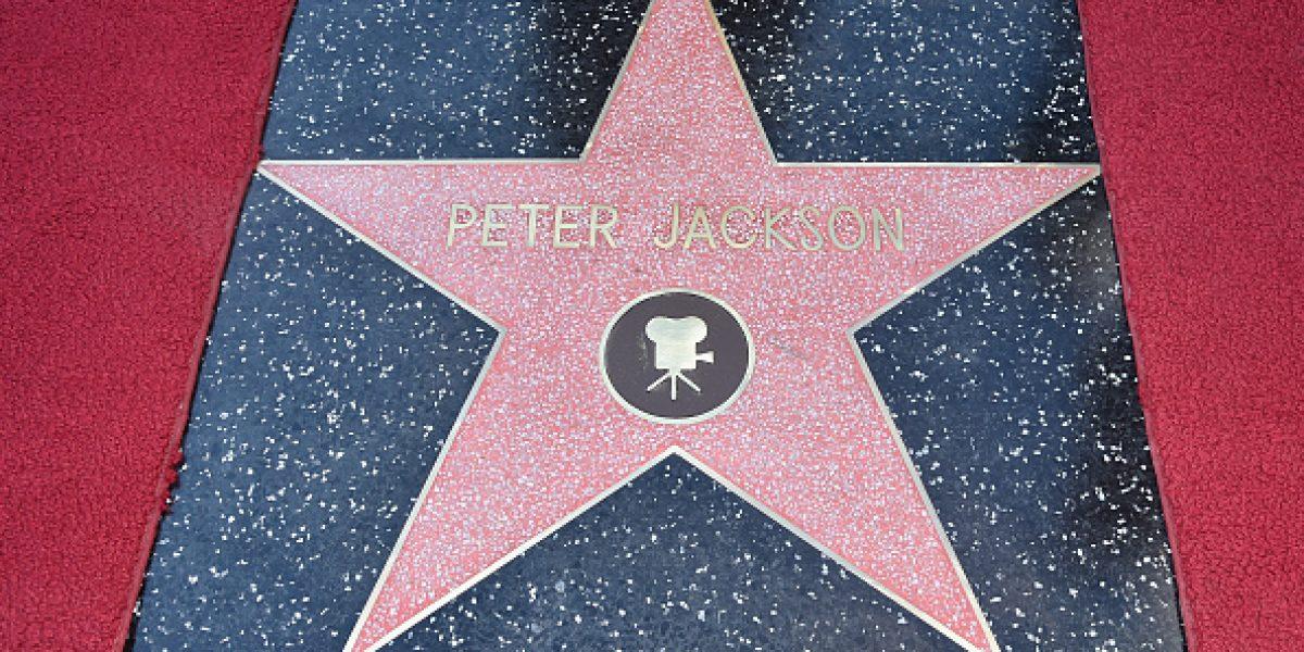 Peter Jackson cumple su sueño de niño con una estrella en el Paseo de la Fama