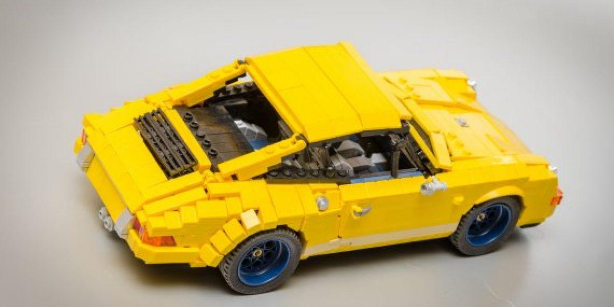 GALERÍA:Conoce al Porsche 911 hecho de Lego