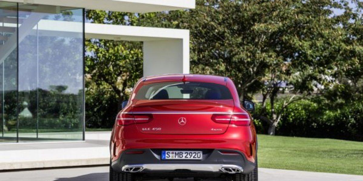 OFICIAL:Este es el nuevo Mercedes-Benz GLE Coupé