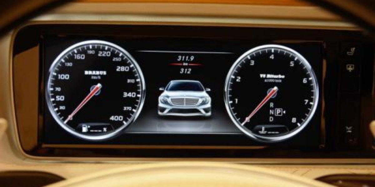 GALERÍA:Un espectacular Mercedes-Benz S63 AMG de oro
