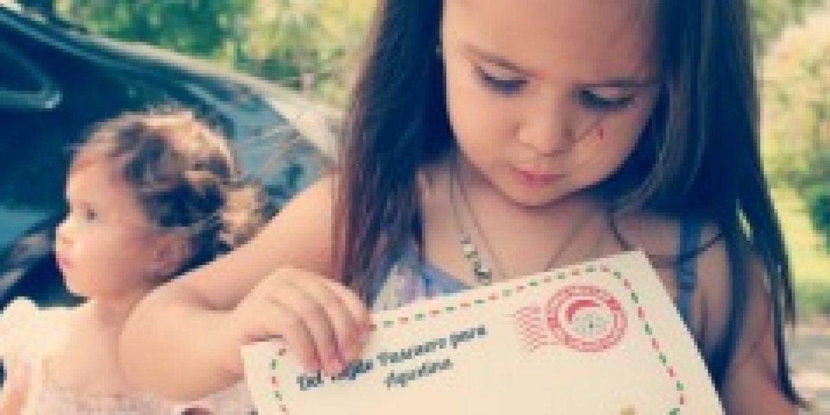 ¿Te imaginas que tu hijo reciba una carta del mismo Viejo Pascuero? Ahora es posible