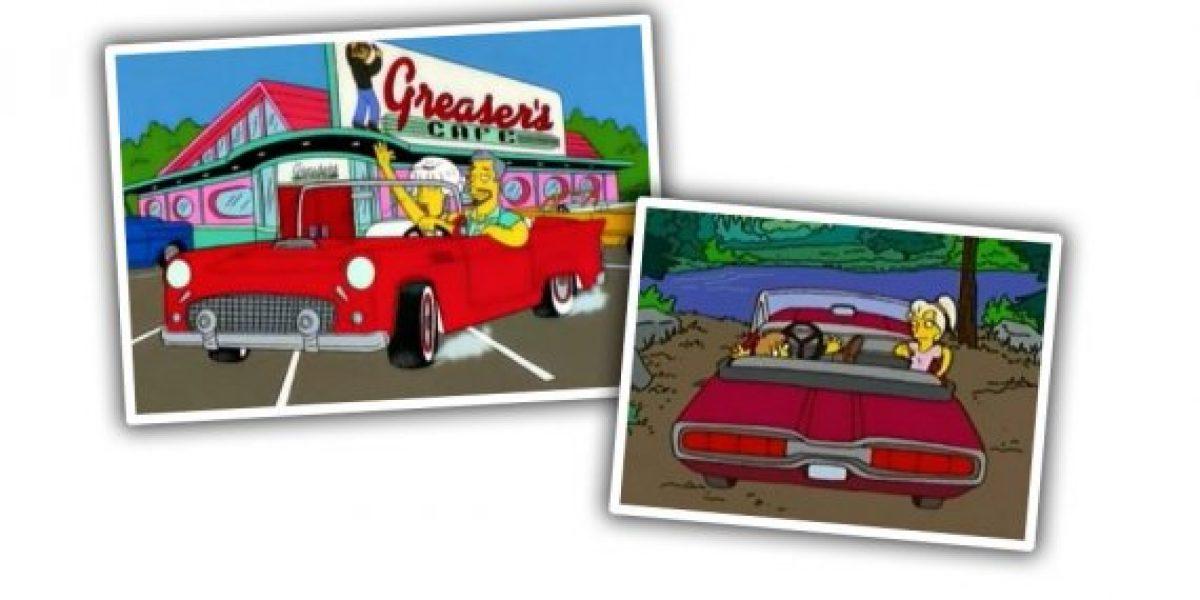 GALERÍA:Los autos más destacados de Los Simpson