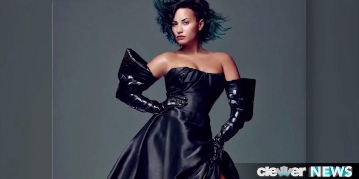 Demi Lovato se atreve y posa casi sin maquillaje en portada de revista