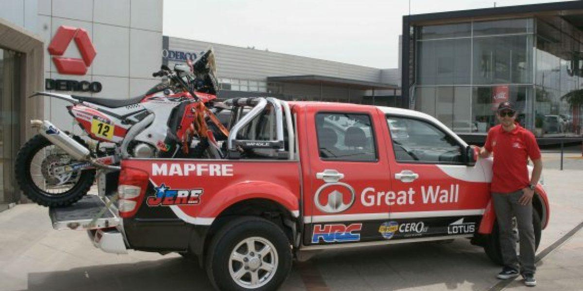 Great Wall apoya a Jeremías Israel de cara al Rally Dakar 2015