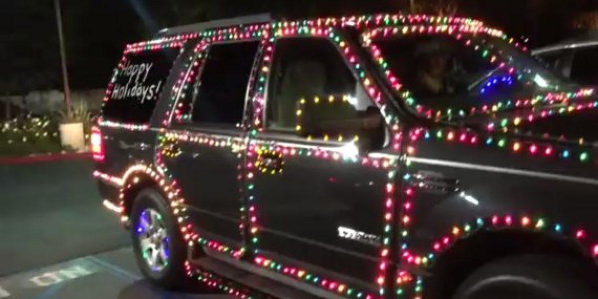 GALERÍA:Este es el auto más navideño de todos