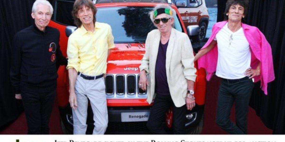Se subasta Jeep Renegade autografiado por Rolling Stones