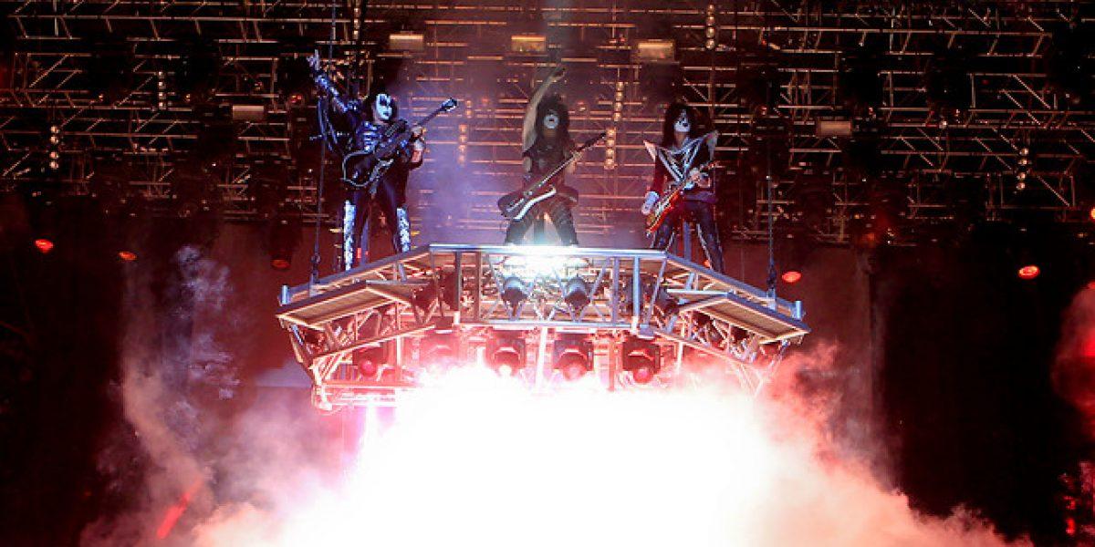 Kiss en Chile: Platea Alta y Tribuna agotadas para su único show en Movistar Arena