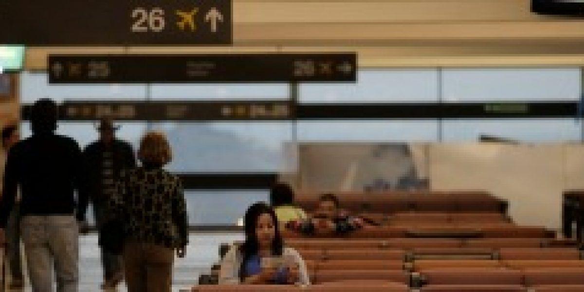 Transporte aéreo de pasajeros en Chile creció un 3,2% en noviembre