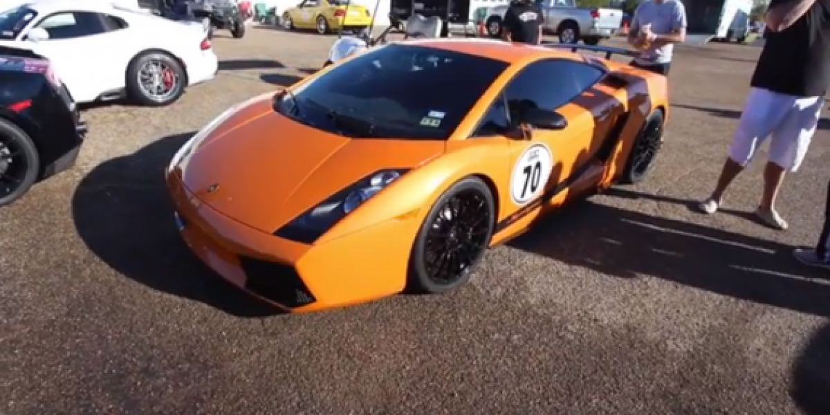 Lamborghini pierde el control a 240 km/hora