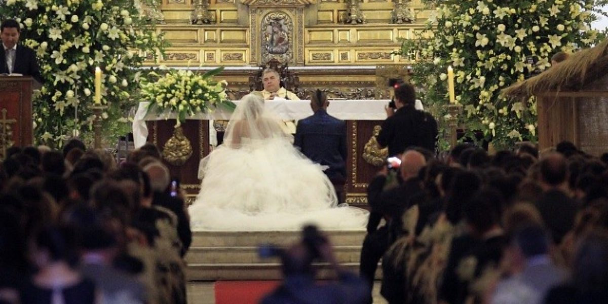 El glamoroso matrimonio de Vidal con la Presidenta Bachelet entre sus invitados