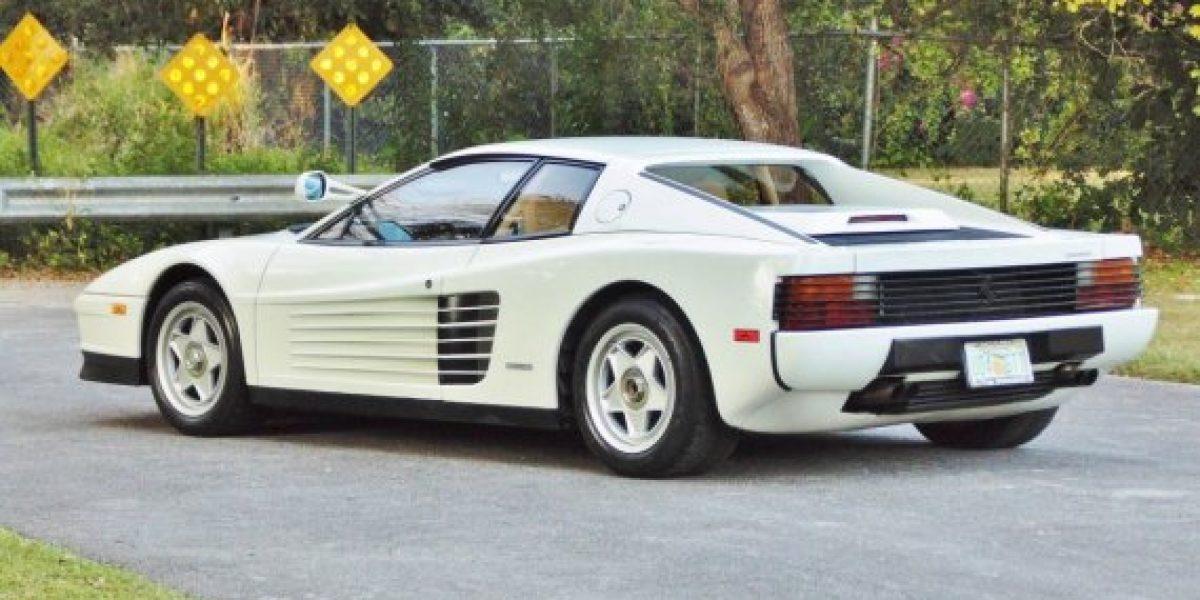 GALERÍA:El Ferrari Testarossa de Miami Vice se va a subasta