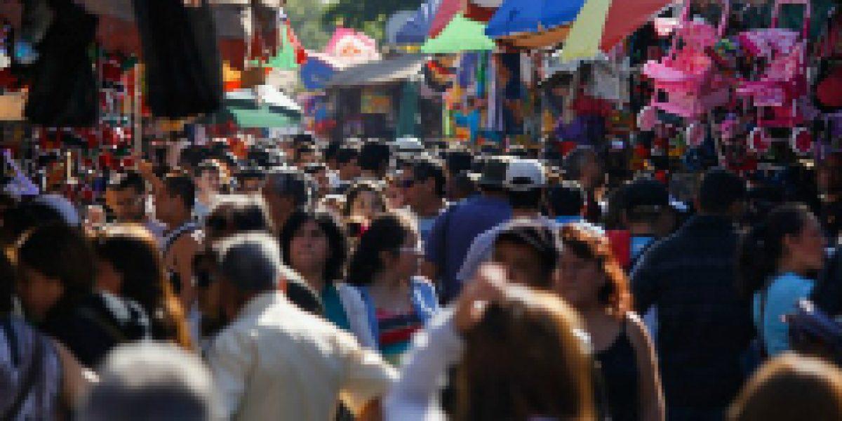 Ventas minoristas en Santiago crecen un 2,8 % en noviembre