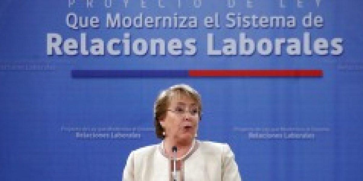 Bachelet presenta poyecto de Reforma Laboral con artículo que impide reemplazar a trabajadores en huelga
