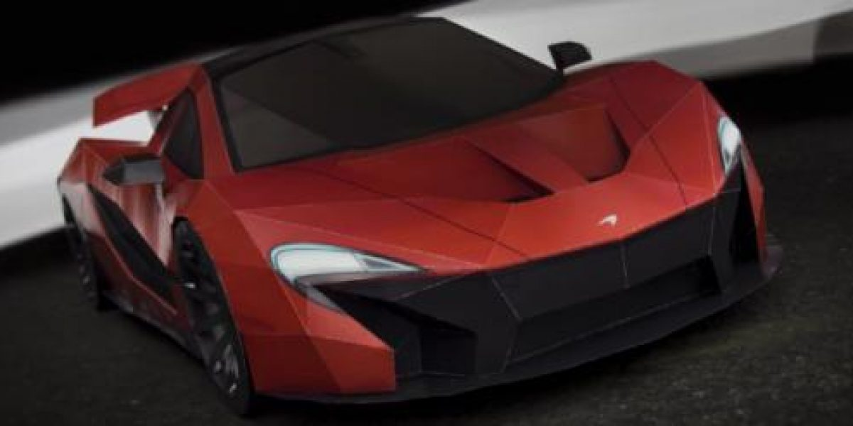 FOTOS Y VIDEO:La mejor réplica de papel de un McLaren P1