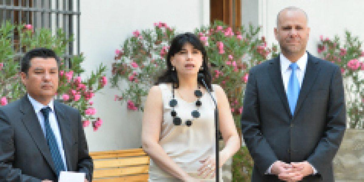 Ministra Javiera Blanco afirmó que baja en desempleo