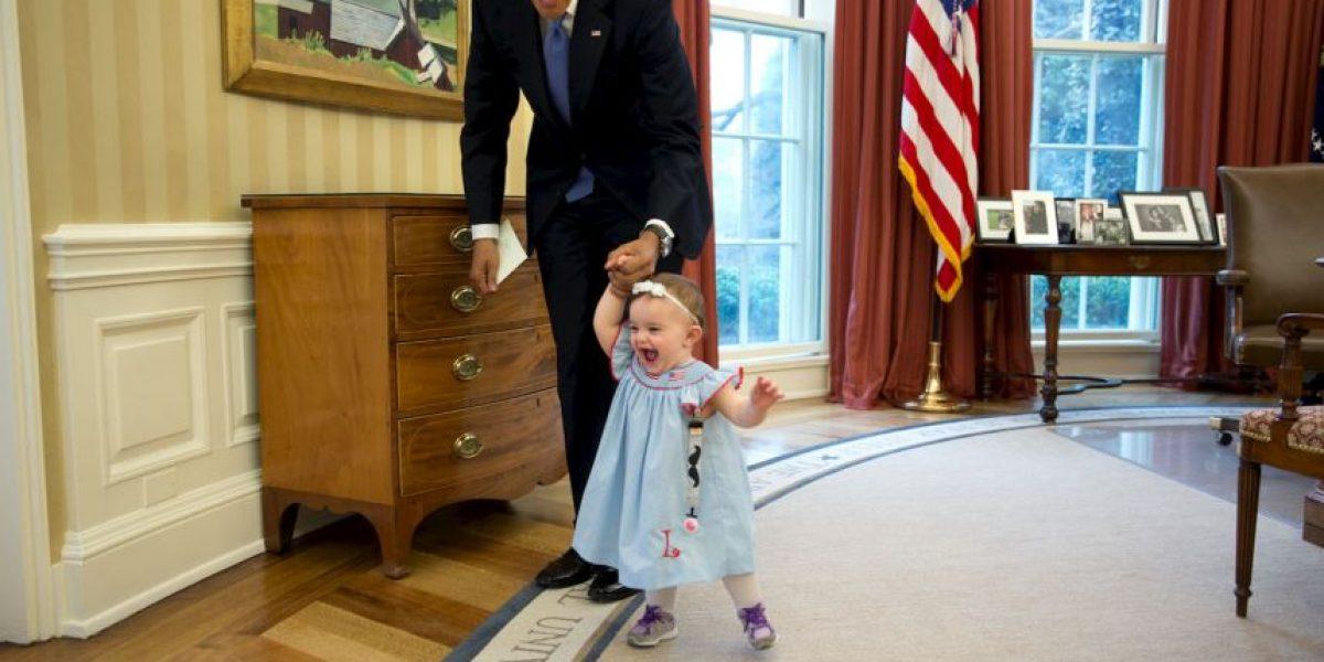 FOTOS: Estas son las mejores imágenes de Obama en 2014