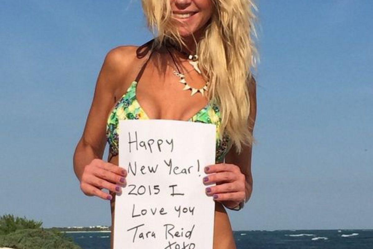 FOTOS: Tara Reid se desnudó en Instagram para desear un ...